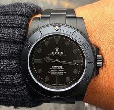 Satin Rolex Mariner