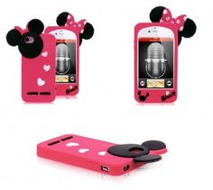 Disney iPhone 4/4S cases – Minnie Mouse