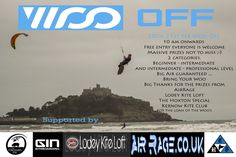 Woo Off results 20-21st Feb 2016 Day one ..Wind very up n down dull day but 30mph on the highs 7mtr kites today. everyone hitting just under 7mtrs until Otto Mead Caught a big one and rode it up to 10.6mtrs , but on the down side he ran out of water ending in slight…