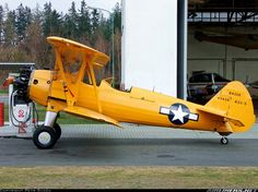 Boeing N2S-5 Kaydet (E75) aircraft picture