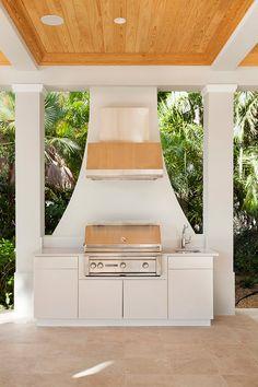 Outdoors | Casatopia | Interior Architecture + Design | Ceiling | Kitchen | Grill