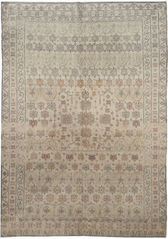 An Indian Agra Rug BB5272 - by Doris Leslie Blau.  An Antique Cotton Indian Agra Rug