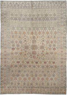 An Indian Agra Rug BB5272 - by Doris Leslie Blau.  An Antique Cotton Indian Agra Rug