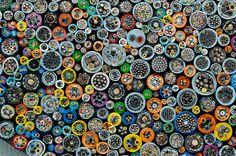 Technical millefiori www.peterbreuer.de
