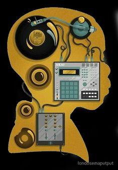 'J dilla dj' Canvas Print by londosemaputput J Dilla, Arte Hip Hop, Hip Hop Art, Dj Sound, Dj Music, Music Stuff, Piano Music, House Music, Music Is Life