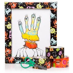 Decorate An OranguFrame With Graphic Tape