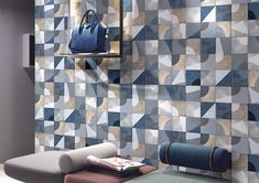 Living Rooms Purpose Wall Tiles by Kajaria Ceramics Limited Modern House Design, Decor, Room Wall Tiles, Tiles, Living Room Designs, Living Room Wall, Tile Design, Wall Tiles, Metallic Tiles Kitchen