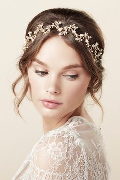 Budding Band Bridal Hair Accessory - The Beautiful New Collection of Bridal Hair Accessories & Jewelry from Elizabeth Bower