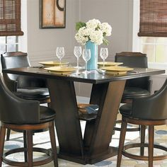 Homelegance Homelegance 5447-36 Bayshore Counter Height Dining Table