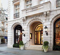 Ralph Lauren, gorgeous storefront