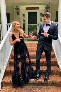 Apr 2020 - black Floor-Length Tulle Prom Dresses,Lace Party – shinydress Cute Prom Dresses, Prom Outfits, Lace Party Dresses, Tulle Prom Dress, Dance Dresses, Homecoming Dresses, Formal Dresses, Prom Pictures Couples, Homecoming Pictures