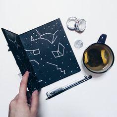 #notebook #handmade #blacknotebook #blackpages #space #blackhandmadenotebook #constellation #notebookconstellation #demiurgespark Notebooks, Journals, Handmade Notebook, My Notebook, Constellations, My Photos, Bullet Journal, Space, Etsy
