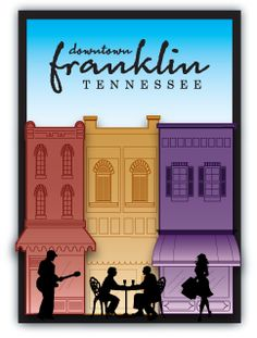 Downtown Franklin Association has spear-headed the revitalization of Franklin's historic downtown according to the four-point program of the National Main Street Center of the National Trust for Historic Preservation