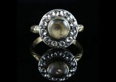 Antique Engagement Rings, Antique Rings, Antique Jewelry, Antique Art, Eye Jewelry, Jewelry Art, Suffragette Jewellery, Lovers Eyes, Mourning Jewelry