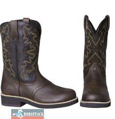 """C.B. WALKER - natürlich wie jeder Cowboy Classic Stiefel rundum voll rahmengenäht! Robust wie ein """" Farm 'n Ranch"""" - Stiefel, bequem wie ein Sportschuh: •Fuß aus robustem """"old crazy"""" Leder, Schaft aus extra weichem Leder •runde, extra bequeme Fußform """"round toe"""" •Laufsohle und Absatz aus angenehmen """"Walker Crepe"""" Material •natürlich mit wechselbarem, eingelegten Fussbett •atmungsaktive Synthetik-Fütterung •antibakterielle Innensohle •For men"""