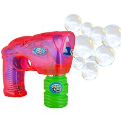Light and Sound Bubble Gun: Click to Zoom