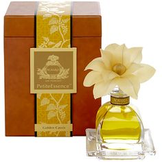 New! Agraria Golden Cassis PetiteEssence Diffuser $50. http://www.agrariahome.com/Golden-Cassis-PetiteEssence-diffuser/