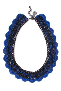 Couture tricotée et style de jersey: Crochet Jewelry by Vanessa Arizaga