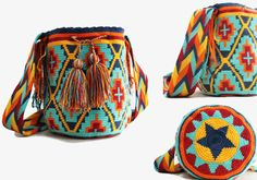 Fotos de Bolso Wayúu artesanal de Colombia (mochila, cartera) Buenos Aires