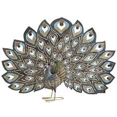 Metal Plumage Peacock | Pier 1 Imports