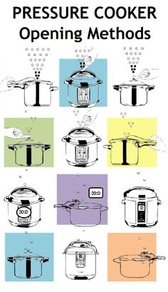 Pressure Cooker Opening Methods