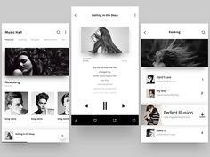 Music APP interface by whitton #Design Popular #Dribbble #shots