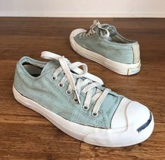 0fc3329b37bbed (eBay Sponsored) Converse Jack Purcell Light Blue Sneakers Denim Unisex Sz  Men 5.5 Women