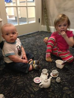 Tea party's are a regular happening at our office