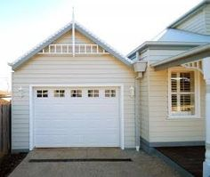 weatherboard homes garages - Google Search
