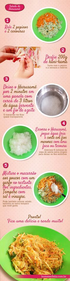 Receita: Salada de Harusamê