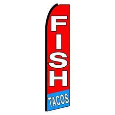 NeoPlex Fish Tacos Swooper Flag