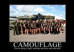 military humor pictures | military-humor-funny-joke-Tank-Camouflage-girls