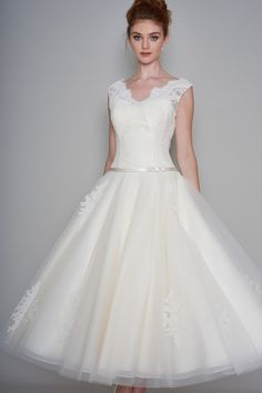 LouLou Bridal Wedding Dress LB186 Margie