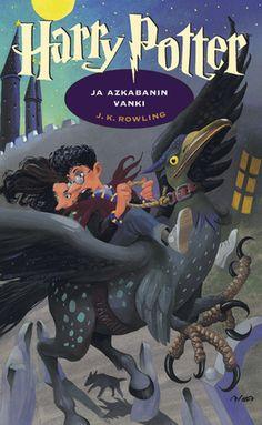 Harry Potter and the prisoner of Azkaban (in finnish: Harry Potter ja Azkabanin vanki, finnish cover art: Mika Launis). [Prison: Vankila. prisoner: vanki]
