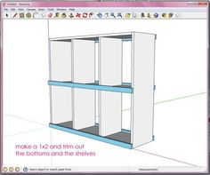 Tutorial from Ana White on using Google Sketchup, a free CAD (Computer Aided Drafting) program! Holy Cow! This is awesome!