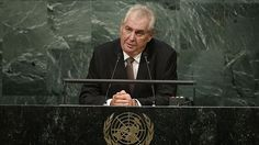 The European Union's planned border patrol will be too small and member states should contribute soldiers to build up a force to protect the bloc's external frontier, Czech President Milos Zeman said on Sunday. United Nations General Assembly, New Law, Human Rights, Citizen, Presidents, Southern France, Czech Republic, Firearms, Crime