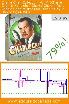 Charlie Chan Collection, Vol. 4 (Charlie Chan in Honolulu / Charlie Chan in Reno / Charlie Chan at Treasure Island / City in Darkness) (4DVD) (DVD). Drop 79%! Current price C$ 8.99, the previous price was C$ 41.98. https://www.adquisitiocanada.com/20th-century-fox-video/charlie-chan-collection