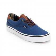 159d797c53c Vans Era 59 Navy Guate Chaussure De Toile Skate Shoes