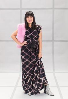 965b42820b Pattern Adventures: Oh Joy Wears Grid! / via Oh Joy! Ootd Fashion,