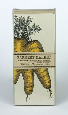 """Farmers' Market taps into today's trend. Consumers are seeking natural and organic food that is as close to the source as possible. Nice execution that brings this concept to life."" Inspiration for next packaging project Brand Packaging, Packaging Design, Branding Design, Organic Packaging, Seed Packaging, Love Vintage, Vintage Design, Vintage Graphic, Label Design"