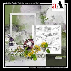 ArtPlay Palette Vie  Released 23 August 2019  #annaaspnes of #aA designs #annaaspnes #digitalart #digitalartist #digitalartistry #digitalcollage #collage #digitalphotography #photocollage #art #design #artjournaling #digital #digital #scrapbooking #digitalscrapbooking #scrapbook #modernart #memorykeeping #photoshop #photoshopelements