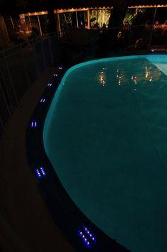 Geco modello da Incasso (esempio uso privato - per piscina) **Luci Led a ricarica solare**Led Lights solar charged** #solar #light #led