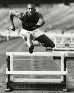 In August of 1936, American athlete Jesse Owens won four gold medals, setting three world records and tying a fourth in the 100 yard dash, all in front of Adolf Hitler, who had planned to use the games as a tool to promote the physical superiority of the Aryan race.