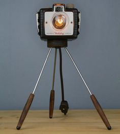 Kodak Holiday Vintage Camera Lamp by Retro Bender on Scoutmob Shoppe