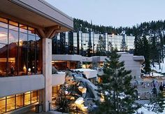 The Resort at Squaw Creek, Lake Tahoe!  Where I got married and also celebrated our 5th wedding anniversary!