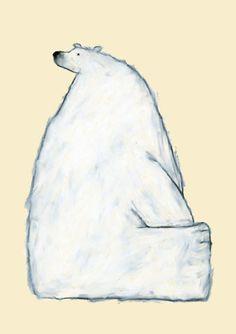 米津祐介のホームページ Yusuke Yonezu Polar bear illustration