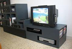 TV cardboard cabinet