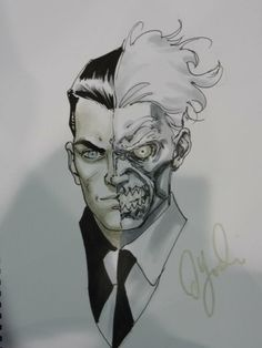 Two-Face by David Yardin