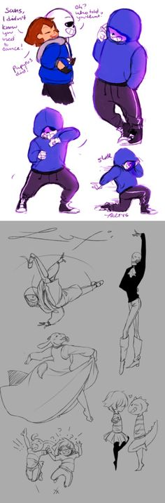 Undertale - Dancetale AU>>>>I LOVE THIS AU I LOVE DANCIGN HAHAHAHAHVSVSCDDSFbBa《 I AM GETTING A RIDICULOUS AMOUNT OF PLEASURE THINKING ABOUT THEM ALL DANCING SANS BREAK DANCING OH MY GOODNESS HELP