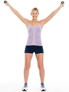 A good intermediate exercise: the High V works your shoulders and triceps.